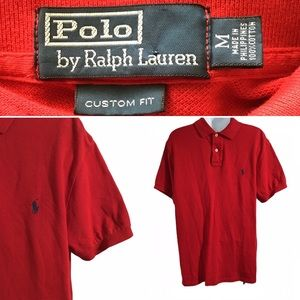Ralph Lauren Polo shirt Medium Blue Pony